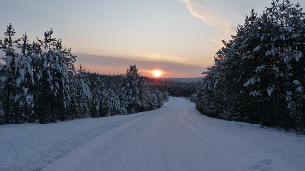 Alevi Camping sneeuw
