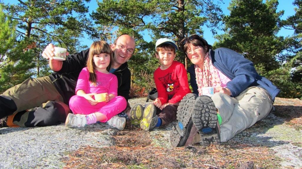 Familie Veen in Zweden