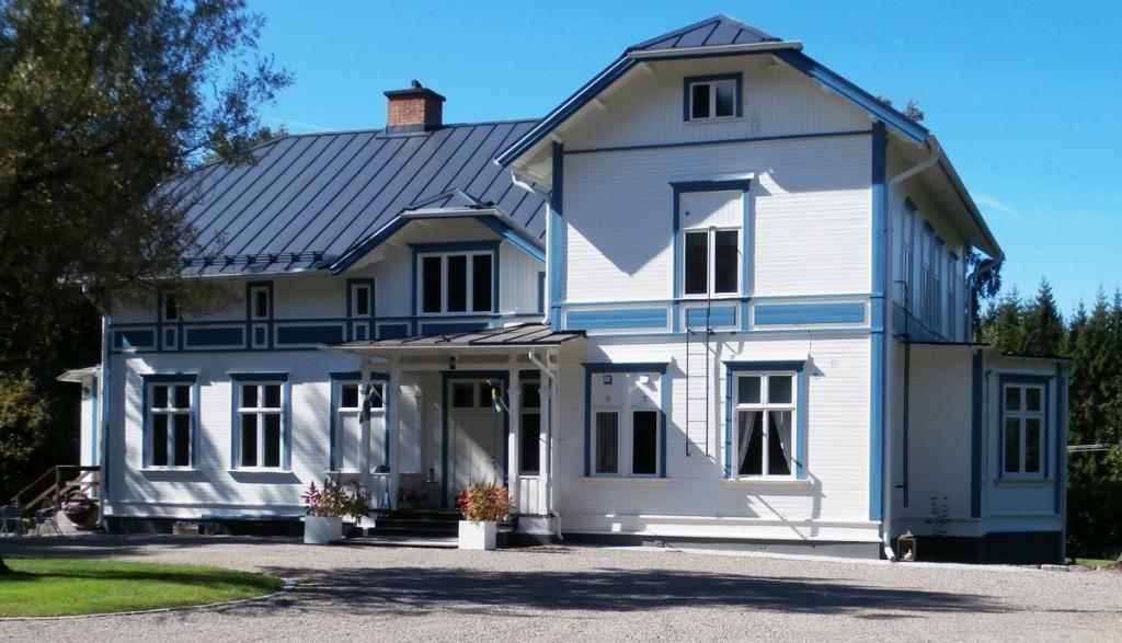 B&B in Zweden Geijersholm Herrgard in de zomer