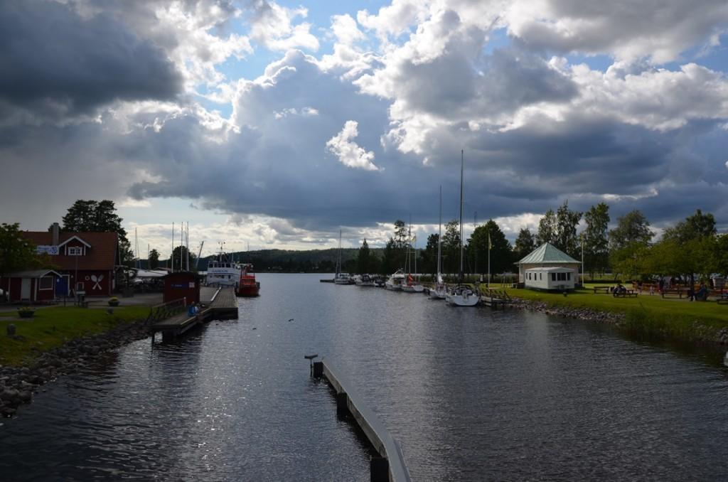 Götakanal bij Karlsborg