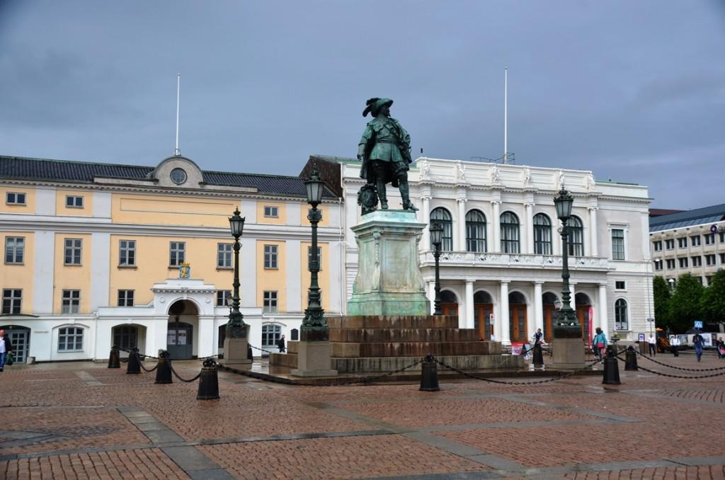 Gustav Adolvs Torg in Goteborg