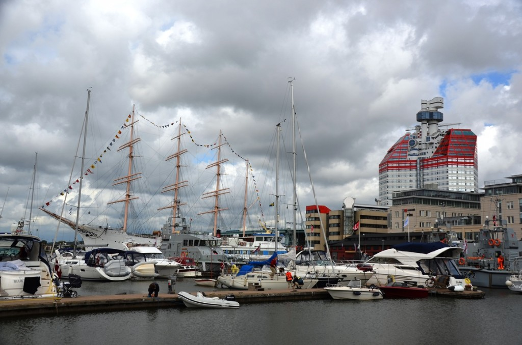 Goteborgs Utkiken en Barken Viking