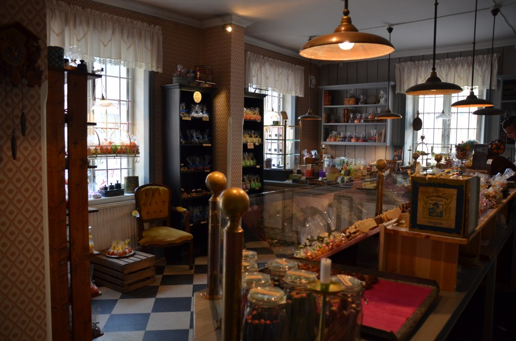 snoepwinkel bij Kronhusbodarna
