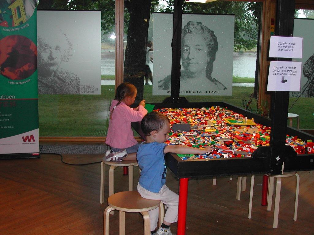 Värmlands Museum in Karlstad, Zweden