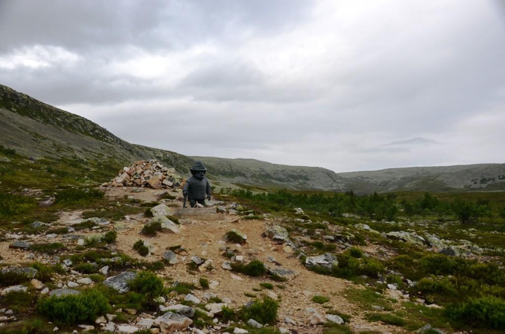 De bergdwerg van Nipfjallet