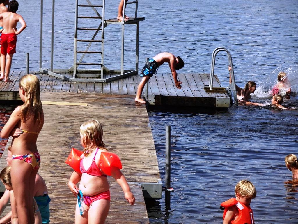 Pinnarp Camping Zweden duiken
