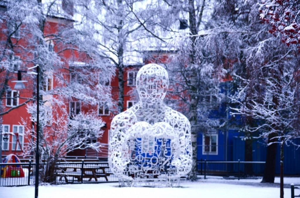 Skulpturparken Umea Gormley
