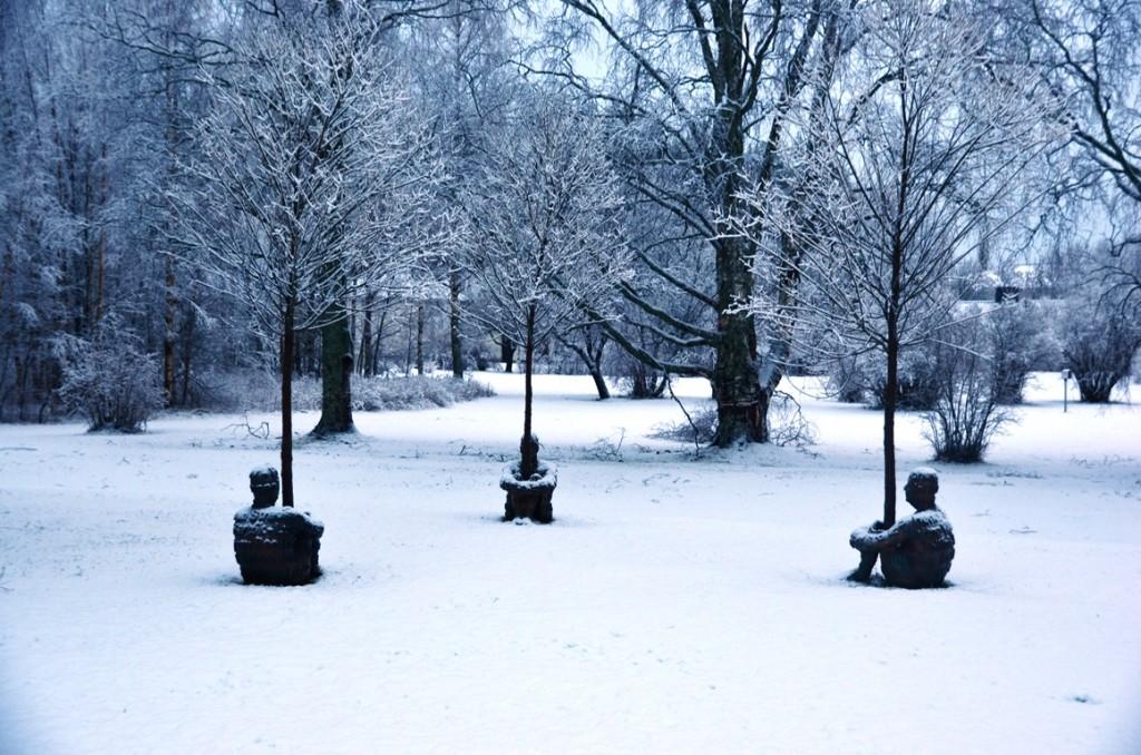 Skulpturparken Umea boomknuffelaars