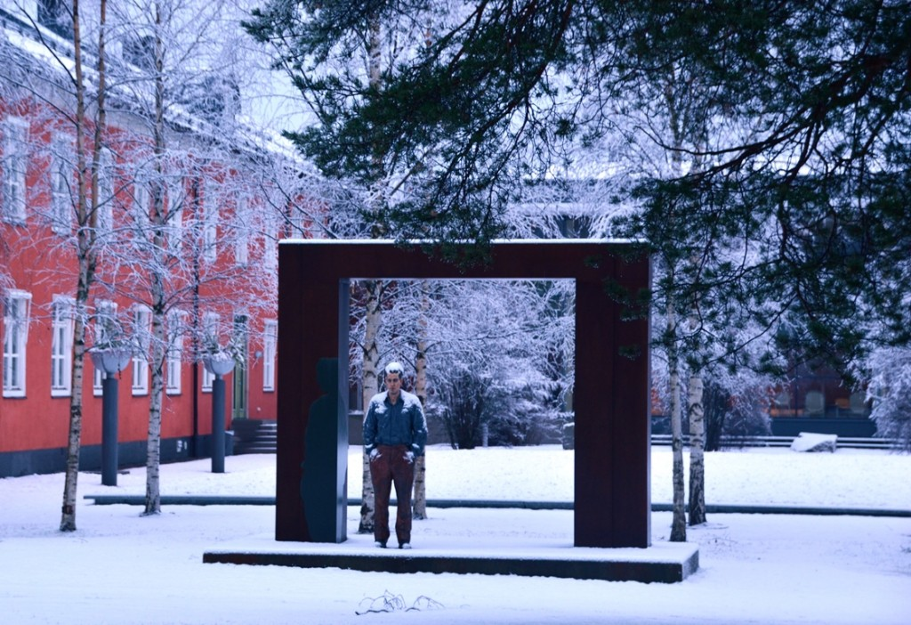 Skulpturparken Umea man