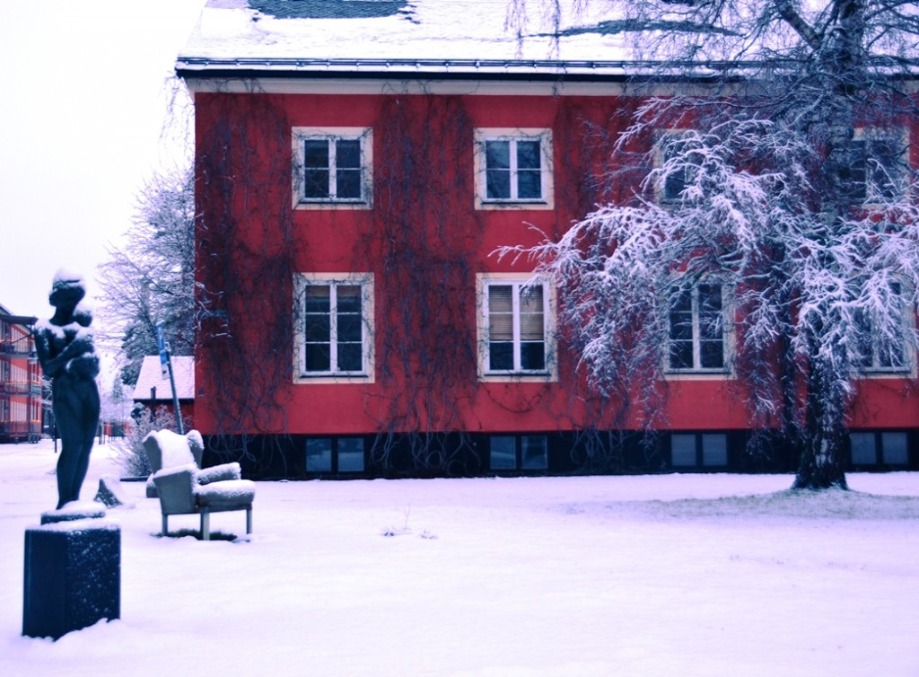 Skulpturparken Umea stoel