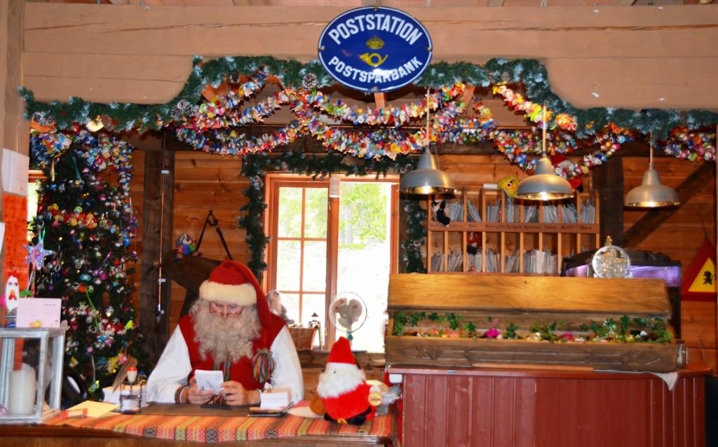 postkantoor van de kerstman in Tomteland Dalarna