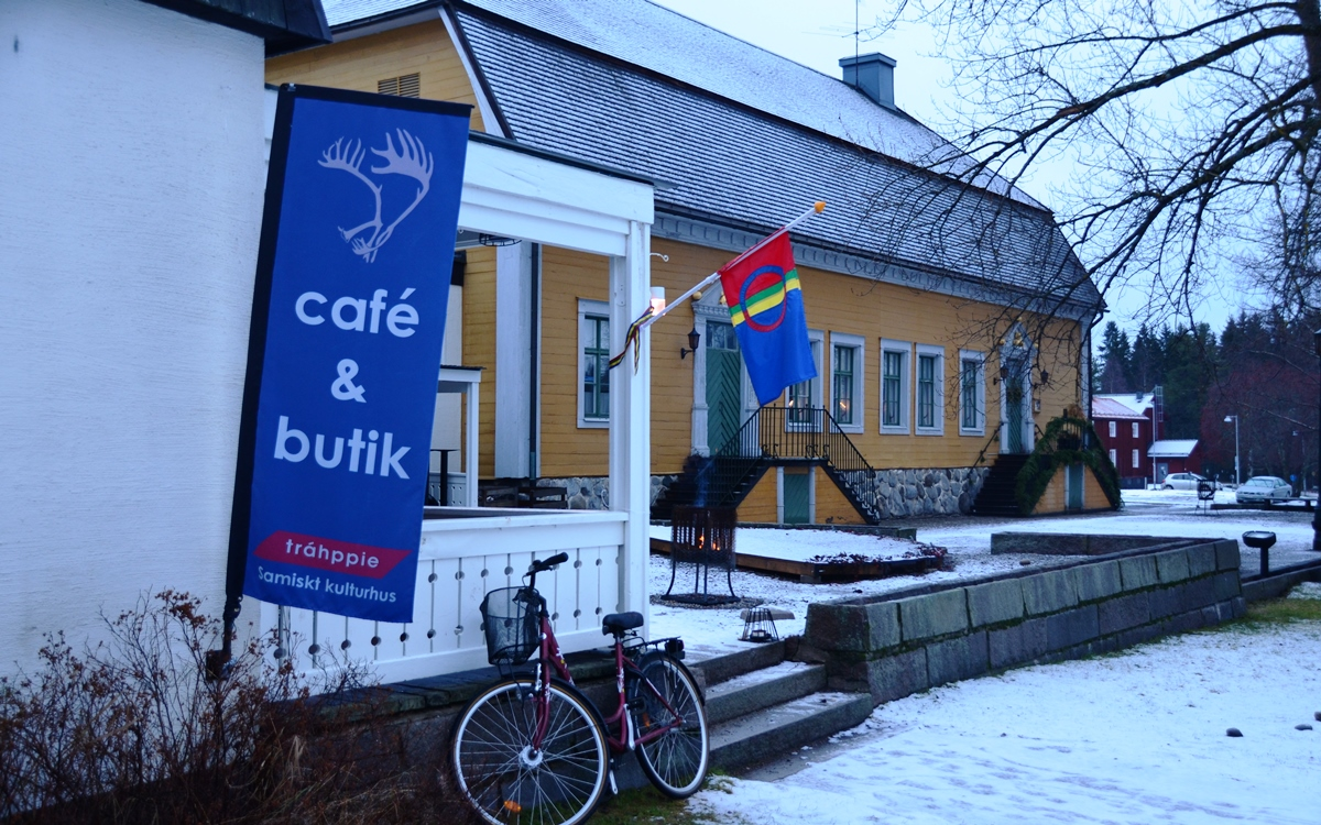 Sami-cultuurcentrum Trahppie bij Västerbottens Museum