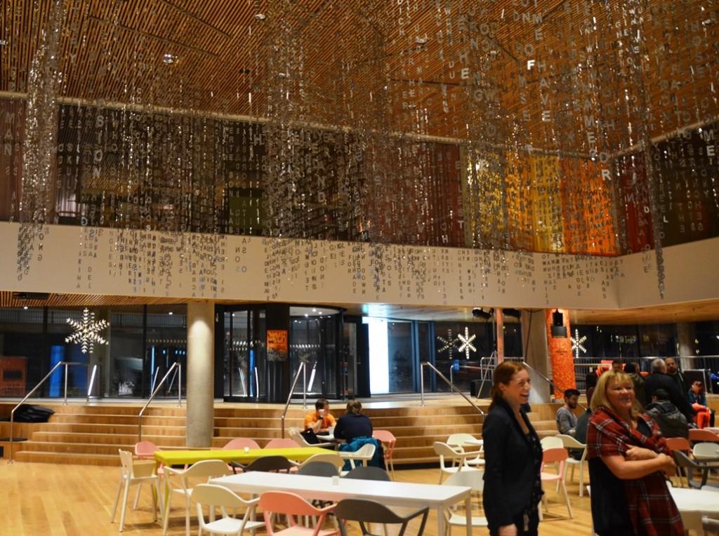 Café en ontmoetingsplaats Fika in Väven