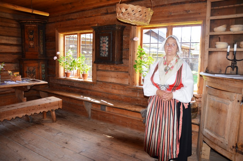 Openluchtmuseum in Leksand, Dalarna, Zweden