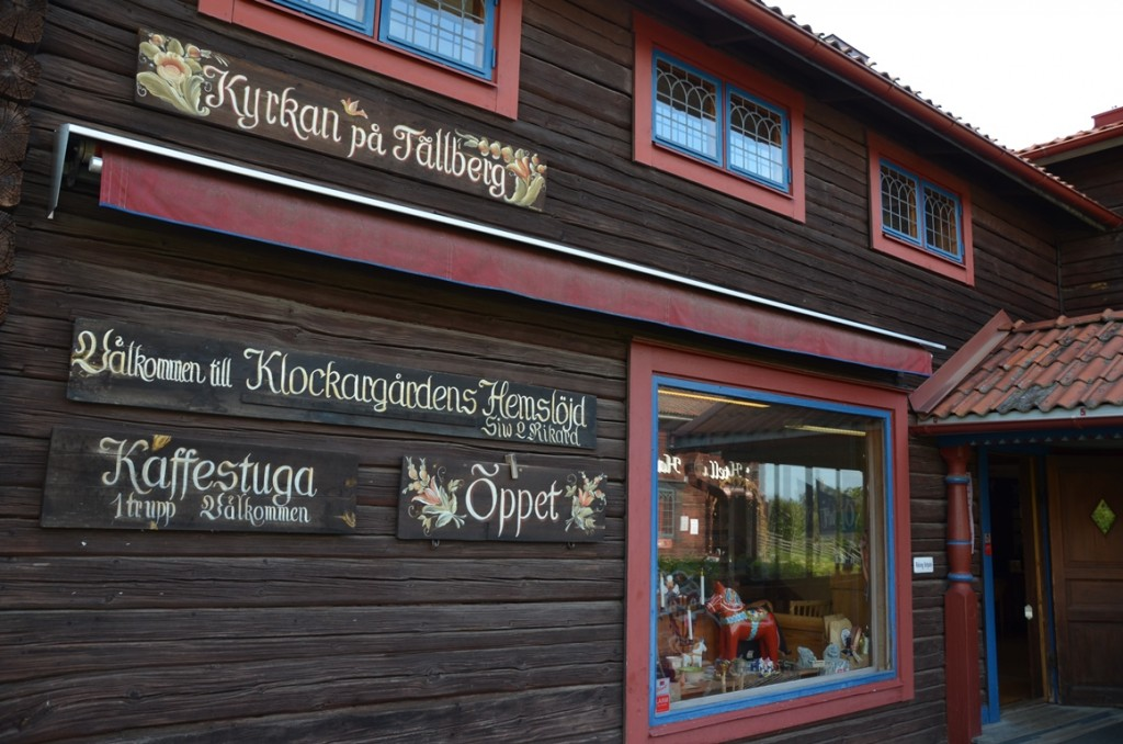 Handwerk in Tällberg, Dalarna, Zweden