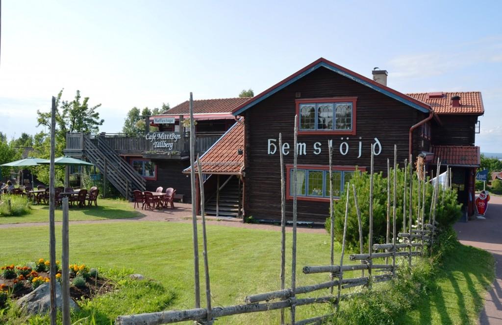 Restaurant in Tällberg, Dalarna, Zweden