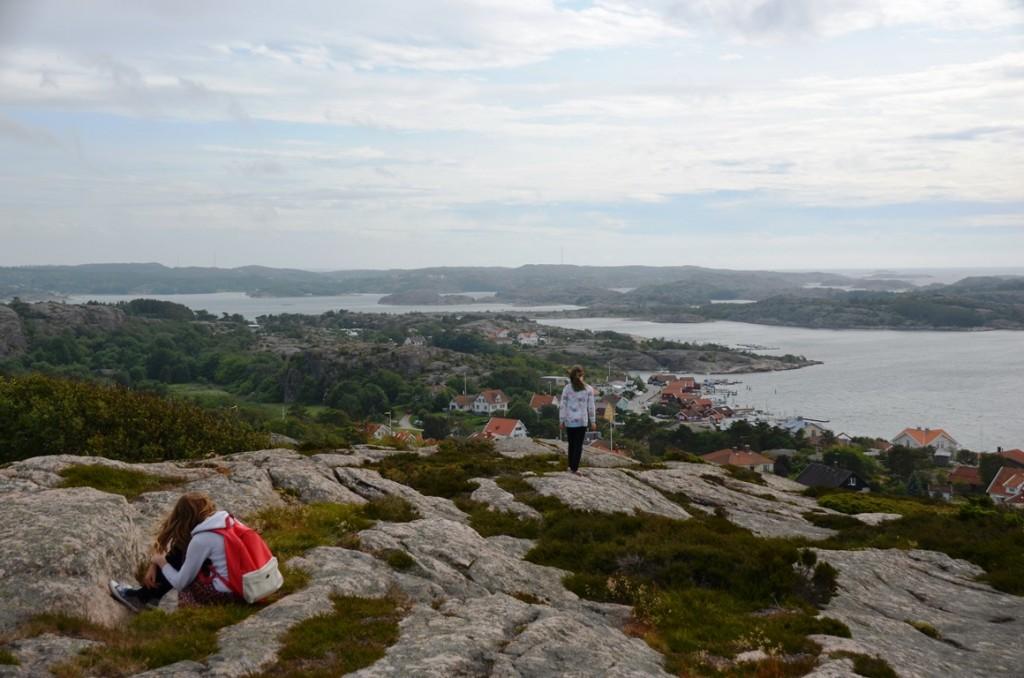 Zweden Fjallbacka Vetteberget