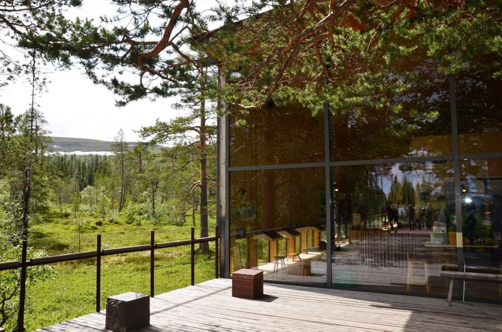Naturum Fulufjallet in Dalarna, Zweden