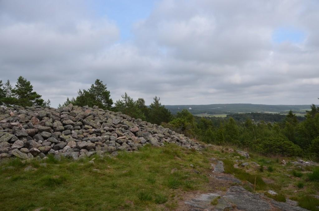 Grafheuvels bij rotstekeningen van Tanum en Vitlycke Museum