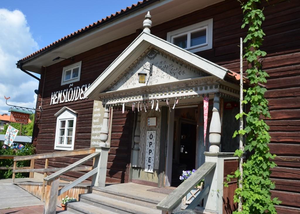 Handwerk in Rättvik, Dalarna, Zweden