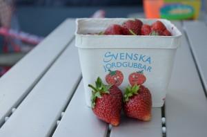 Zweedse-aardbeien