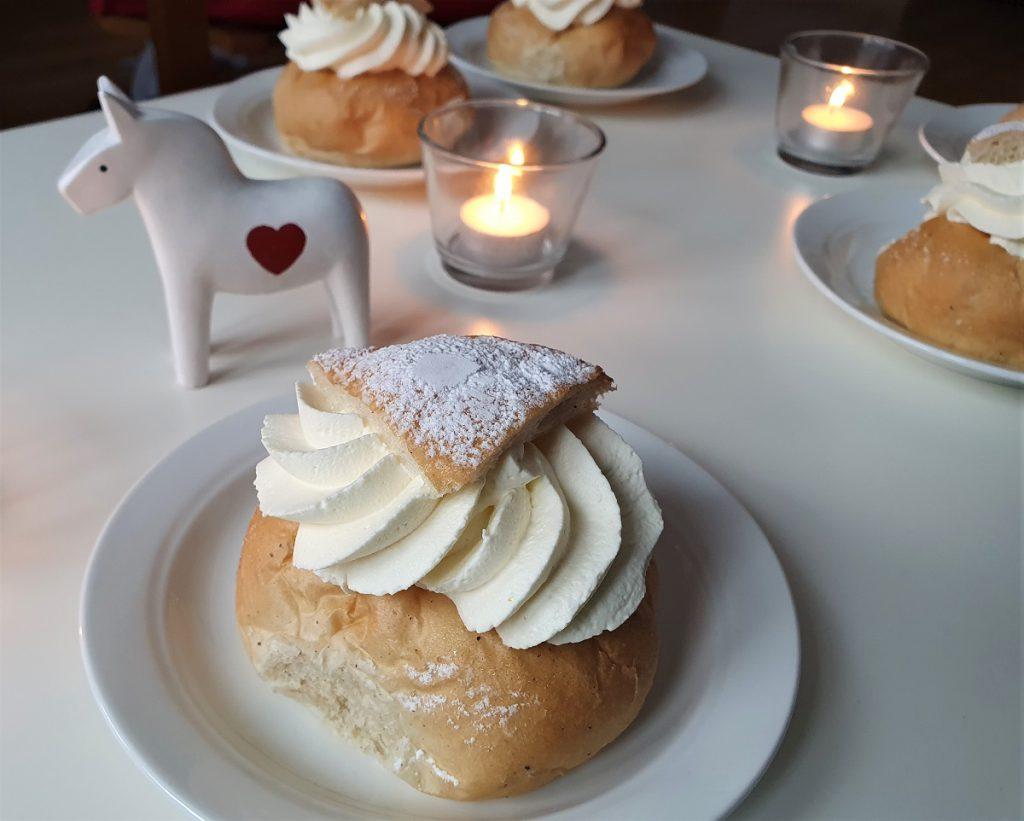 semla eten in zweden