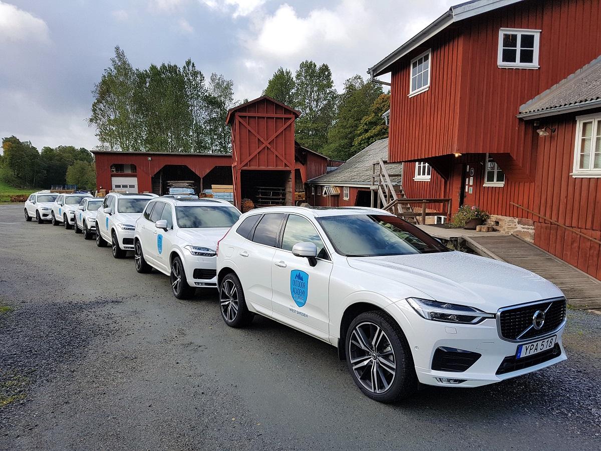 Bezoek aan de Volvo-fabriek in Goteborg