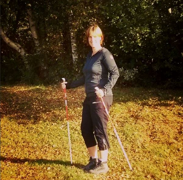Sandra-Nordic-Walking