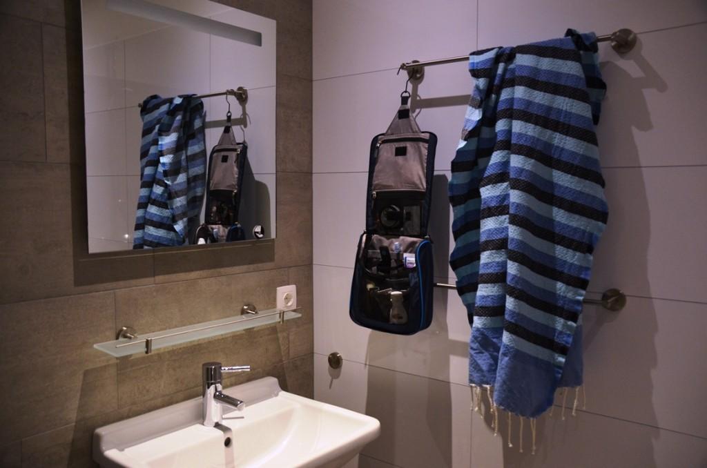 ophangbare toilettas